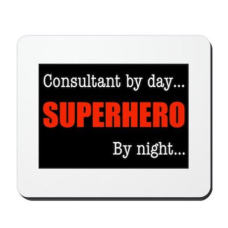 Superhero Consultant Mousepad