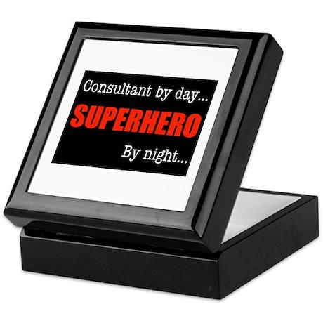 Superhero Consultant Keepsake Box