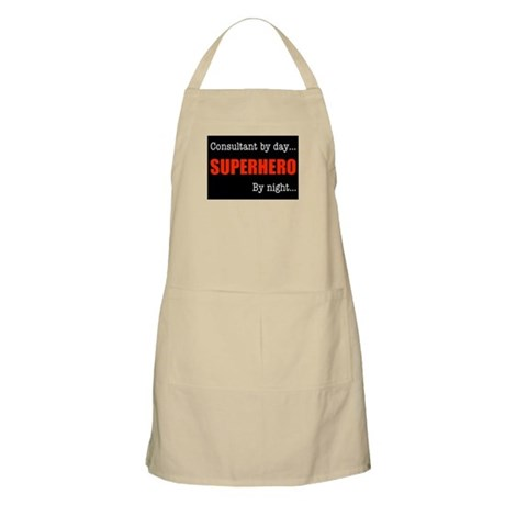 Superhero Consultant BBQ Apron
