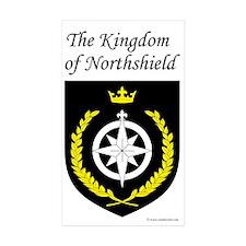 Kingdom of Northshield Rectangle Sticker 10 pk)