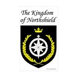 Kingdom of Northshield Rectangle Sticker 10 pk)