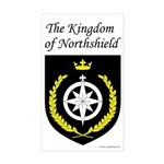 Kingdom of Northshield Rectangle Sticker