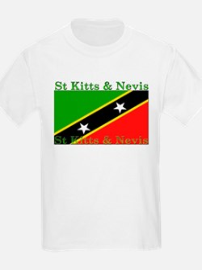 St Kitts & Nevis Kids T-Shirt