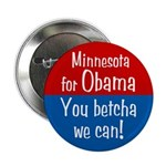 Minnesota for Obama You Betcha We Can Pin