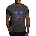 Violet Baby Sea Turtles Dark T-Shirt