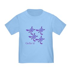 Violet Baby Sea Turtles T