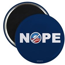 "Nope 2 Anti-Obama 2.25"" Magnet (100 pack)"