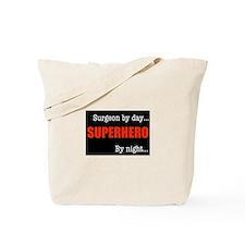 Superhero Surgeon Tote Bag