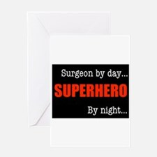 Superhero Surgeon Greeting Card