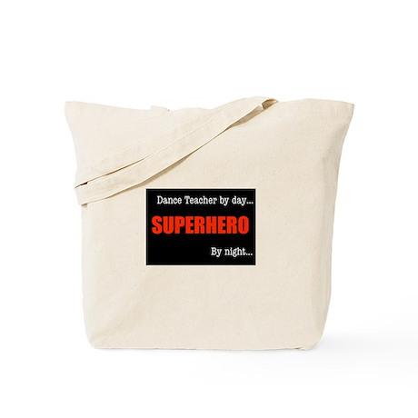 Superhero Drama Teacher Tote Bag