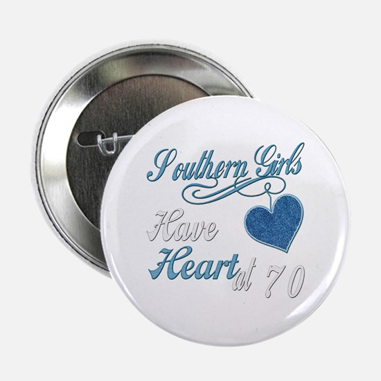 """Southern Heart 70th 2.25"""" Button"""