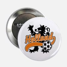 "Holland Soccer 2.25"" Button"