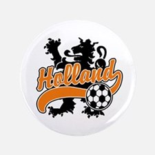 "Holland Soccer 3.5"" Button"
