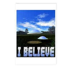 I BELIEVE Postcards (Package of 8)