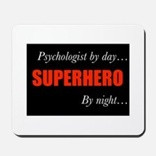 Superhero Psychologist Mousepad