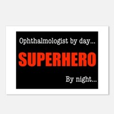 Superhero Ophthalmologist Postcards (Package of 8)