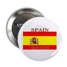 Spain Spanish Flag Button