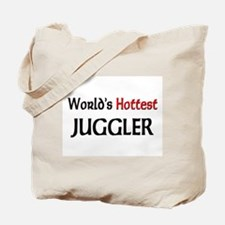 World's Hottest Juggler Tote Bag