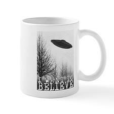 I Want To Believe Small Mug