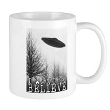 I Want To Believe Small Mug