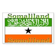 Somaliland Somali Flag Rectangle Decal