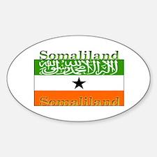 Somaliland Somali Flag Oval Decal