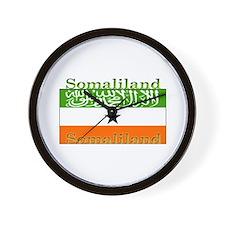 Somaliland Somali Flag Wall Clock