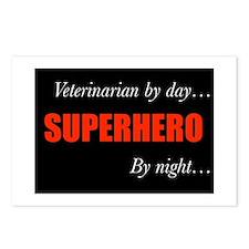Superhero Veterinarian Postcards (Package of 8)