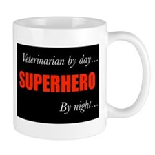 Superhero Veterinarian Mug
