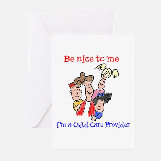 Be Nice to Me Child Care Greeting Cards (Pk of 20)