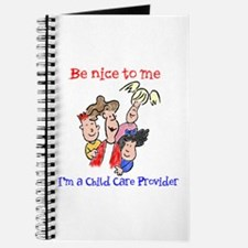 Be Nice to Me Child Care Journal