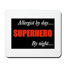 Superhero Allergist Gift Mousepad