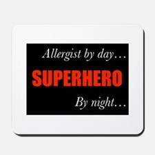 Superhero Allergist Gift Mousepad