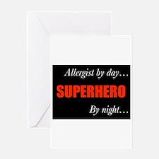 Superhero Allergist Gift Greeting Card