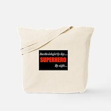 Superhero Anesthesiologist Tote Bag