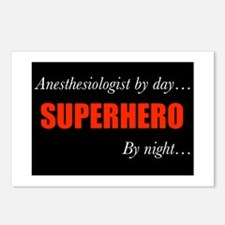 Superhero Anesthesiologist Postcards (Package of 8