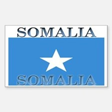 Somalia Somali Flag Rectangle Decal