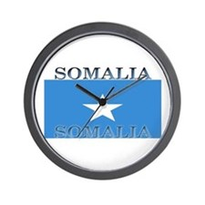 Somalia Somali Flag Wall Clock