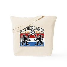 Netherlands Soccer Tote Bag