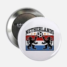 "Netherlands Soccer 2.25"" Button"