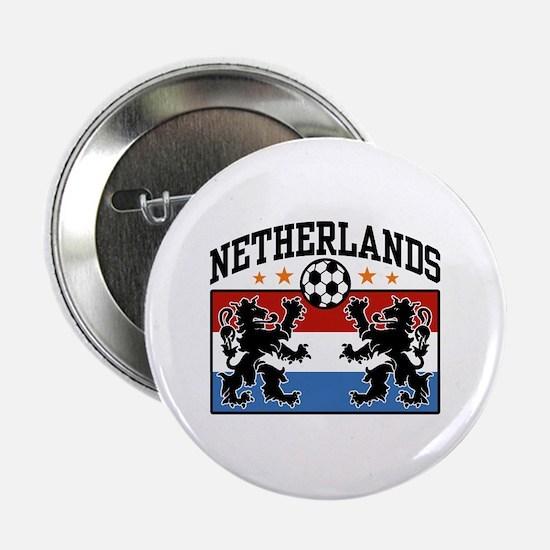 """Netherlands Soccer 2.25"""" Button"""