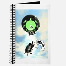 Comical Cow Abduction Journal