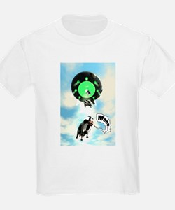 Comical Cow Abduction T-Shirt