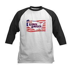 Redneck America Kids Baseball Jersey