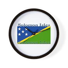Solomon Islands Wall Clock