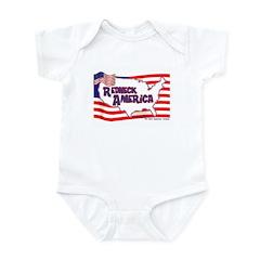 Redneck America Infant Creeper