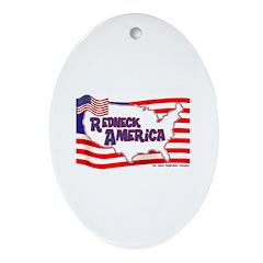 Redneck America Keepsake (Oval)