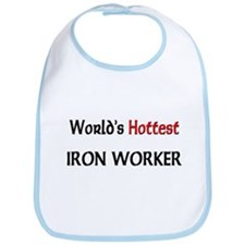 World's Hottest Iron Worker Bib