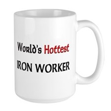 World's Hottest Iron Worker Large Mug