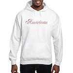 Red/White & Blue American Hooded Sweatshirt